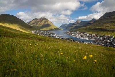 pictures of Faroe Islands - Klaksvik view