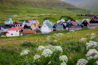 images of Faroe Islands - Gjogv village