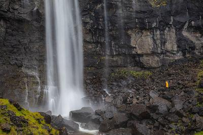 images of Faroe Islands - Fossá waterfall