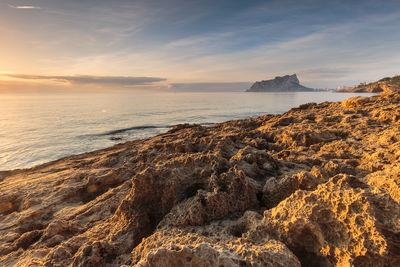 photo spots in Comunidad Valenciana - Sunrise of the Peñón de Ifach