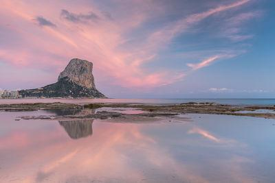 Comunidad Valenciana instagram locations - Sunset at Calpe beach