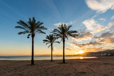 Comunidad Valenciana photography locations - Sunset at Cullera beach