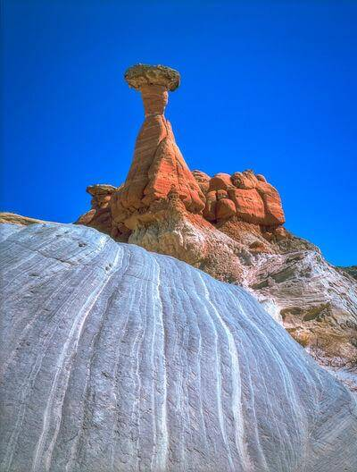 photos of Coyote Buttes North & The Wave - Toadstool Hoodoo