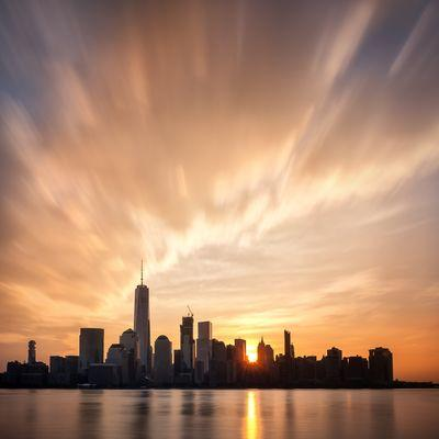 photography spots in New Jersey - Lower Manhattan from New Jersey (Exchange Place)