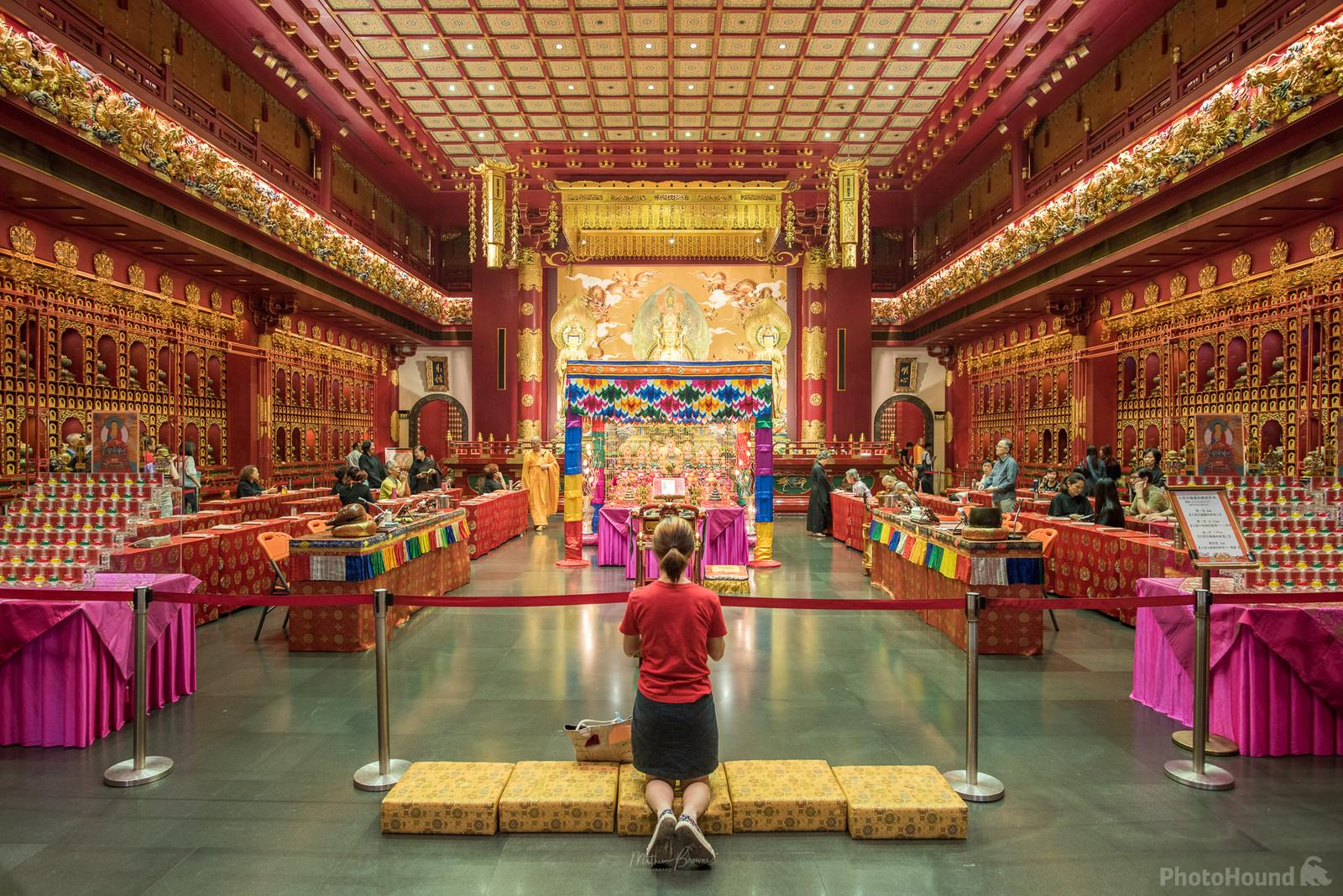 Image of Buddha Tooth Relic Temple - Interior by Mathew Browne
