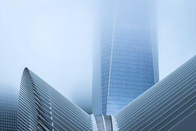 photography spots in New York - One WTC over the Transportation Hub