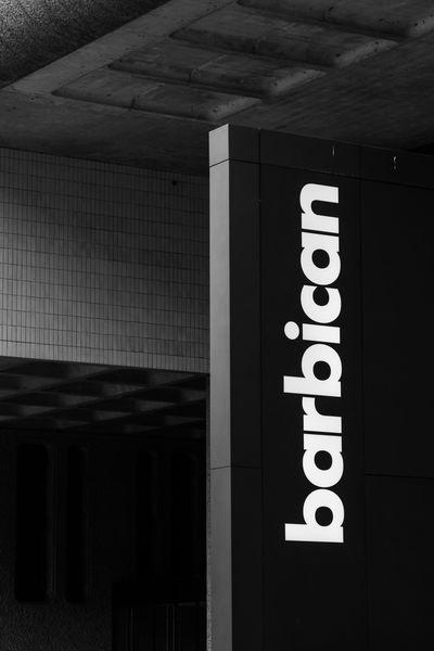 pictures of London - Barbican Estate