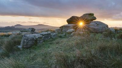 photography spots in England - Black Tor (Walkhampton Common)