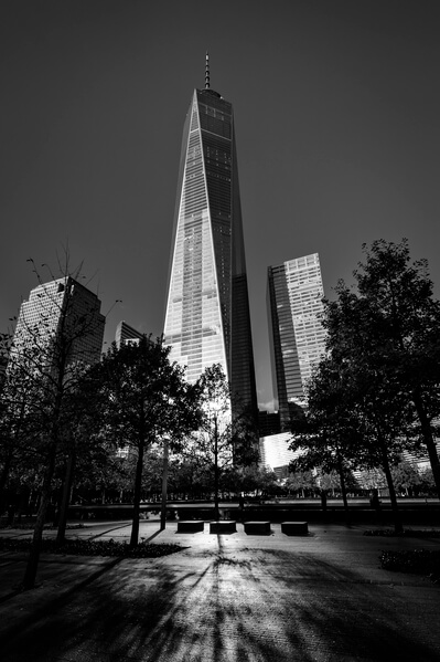 Wideangle view of Ground Zero