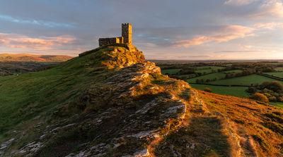 England instagram locations - St Michael's Church, Brentor