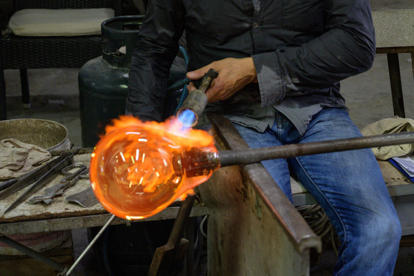 Glass Making at Murano Island