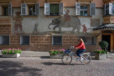 photo locations in Alto Adige - Hotel Elephant in Brixen / Bressanone