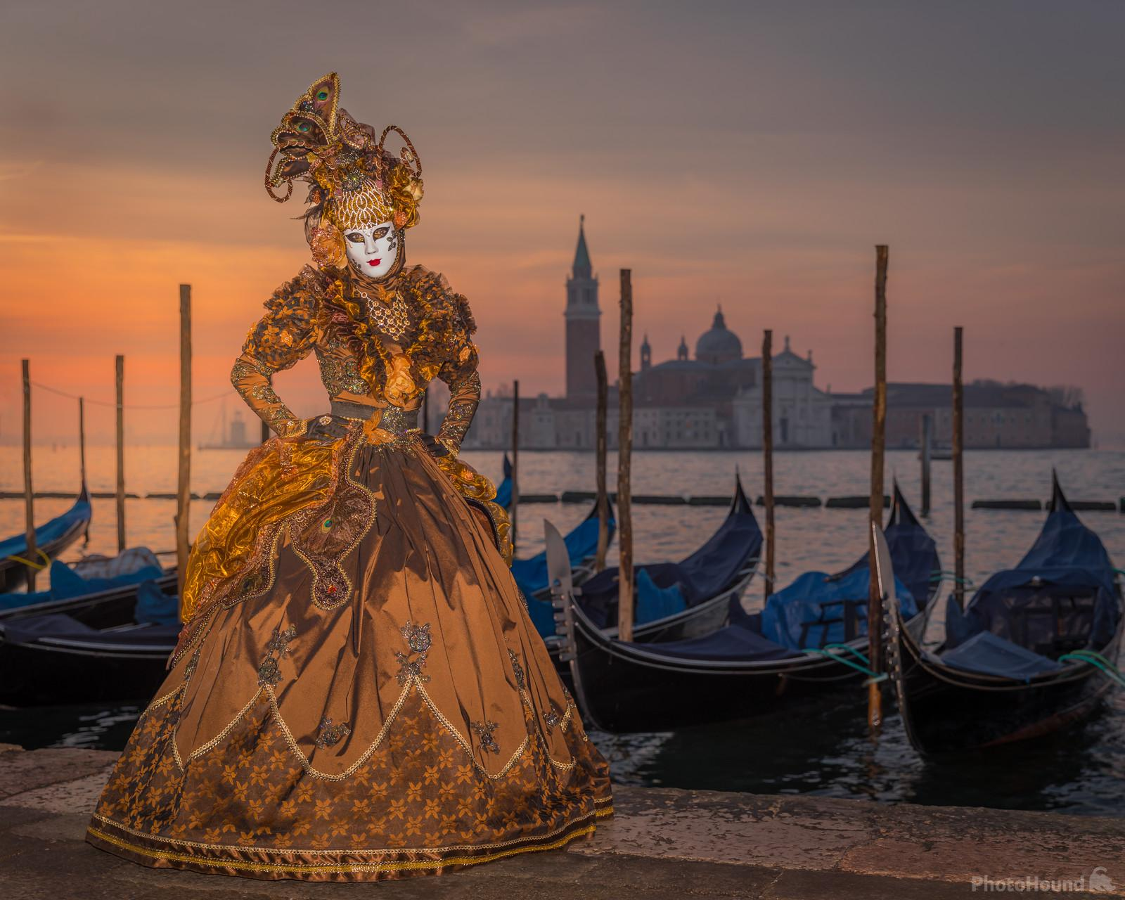 Early morning at the Venice Carnival