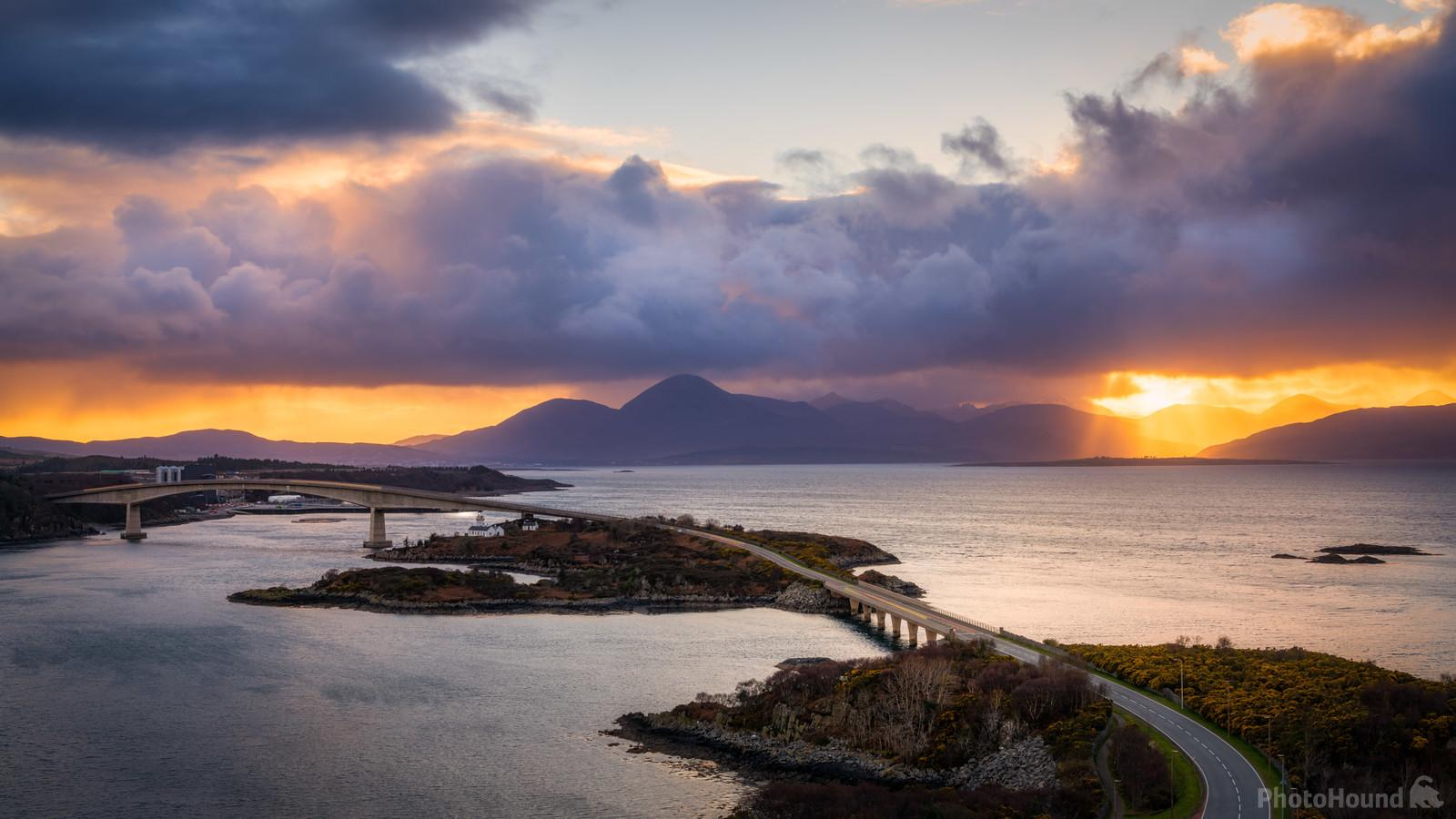 The Skye Bridge captured from