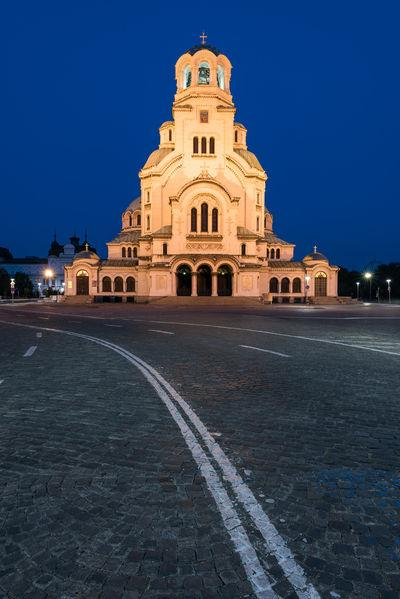 images of Bulgaria - Sofia - Alexander Nevsky Cathedral