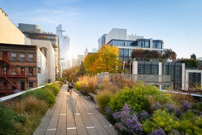 instagram spots in New York - The High Line, W 20th STreet