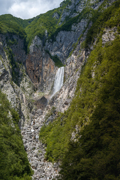 Boka waterfall from the viewpoint