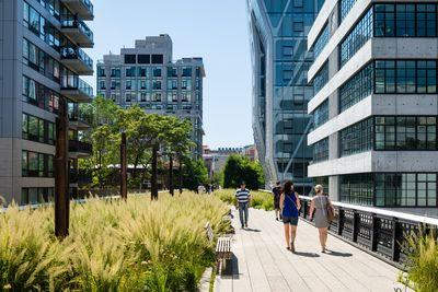 photo spots in New York - The High Line, W 24th Street