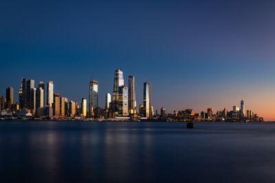New Jersey photography locations - Hudson Yards view from New Jersey