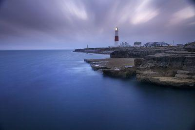 photos of Dorset - Portland Bill Lighthouse