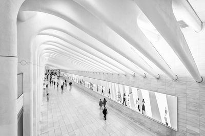 New York instagram spots - Passages to WTC Transportation Hub (Oculus)