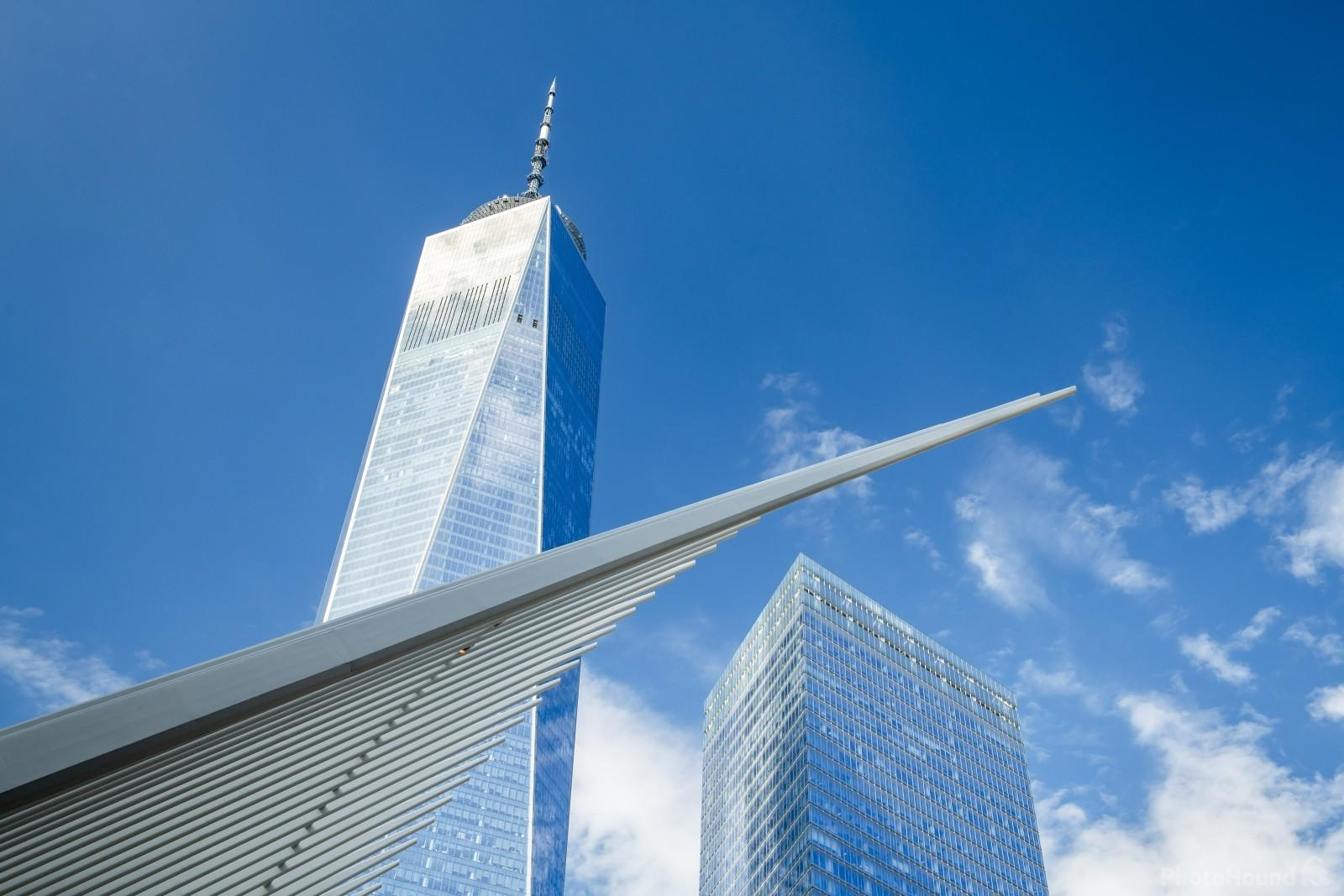 Just a piece of the Oculus with One WTC in the frame.