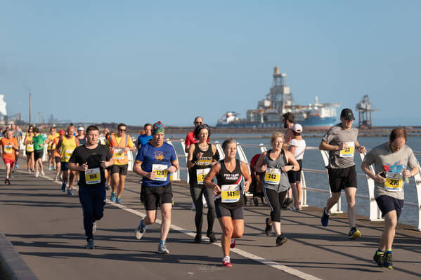 Summer 5K along the seafront