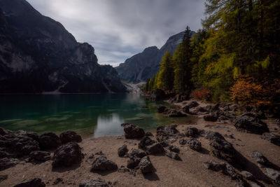 Alto Adige photo locations - Lago di Braies (Pragser Wildsee) - Rocks