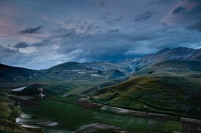 View from Castelluccio