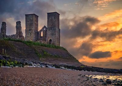 photography spots in England - Reculver Towers