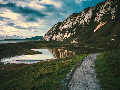 instagram spots in England - White Cliffs at Samphire Hoe
