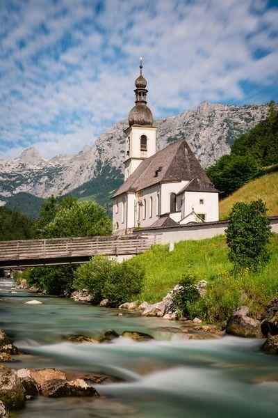 photography locations in Bayern - Parish Church of St. Sebastian in Ramsau