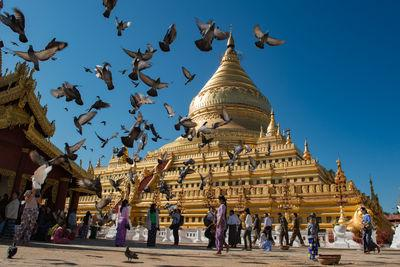 Myanmar (Burma) photo spots - Shwezigon Pagoda near Bagan