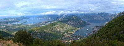 pictures of Coastal Montenegro - Bay of Kotor View