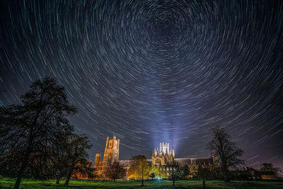 Ely photography spots - Ely Cathedral from Cherry Hill Park
