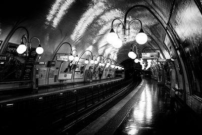 Ile De France photography locations - Cite Metro station