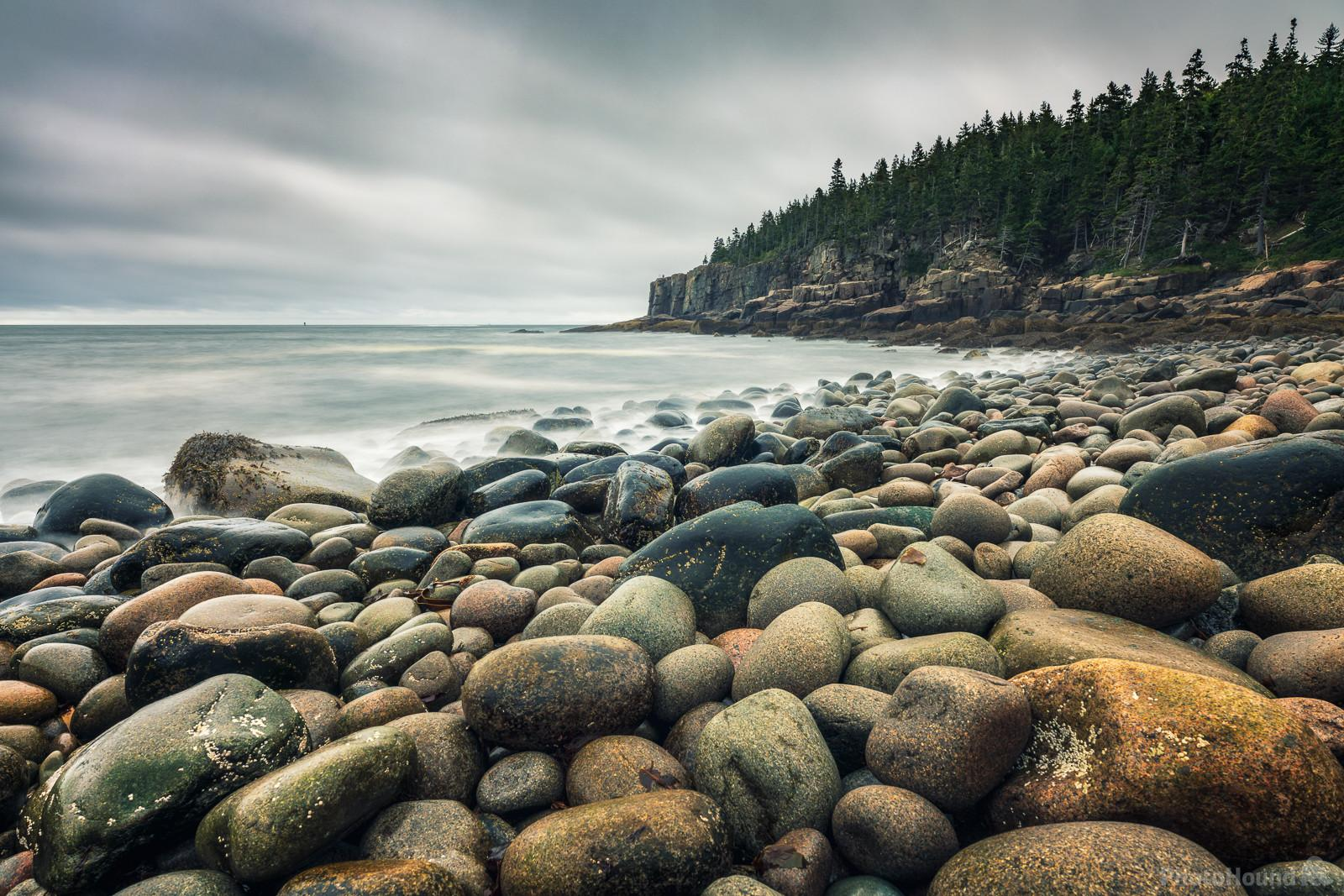 Boulder Beach on a cloudy day