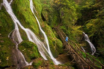 Skakavac (grasshopper) is a 30m high waterfall is one of the hightlights of Papuk Nature Park.