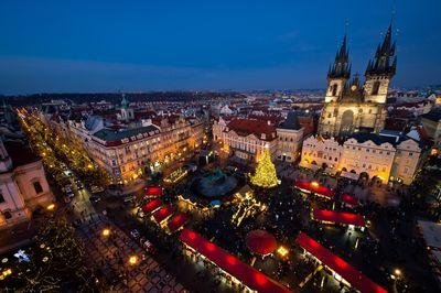 photography locations in Czechia - Prague Christmas Market at Old Town Square