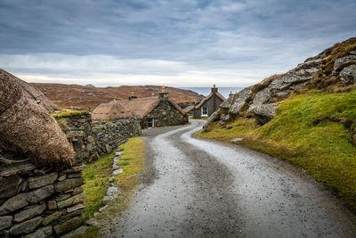 instagram spots in Na H Eileanan An Iar - Gearrannan Blackhouse Village