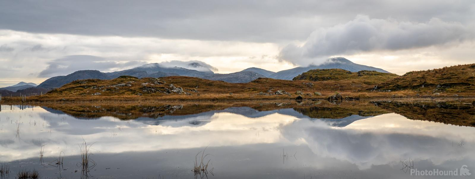 Image of Uig tarn by Richard Lizzimore
