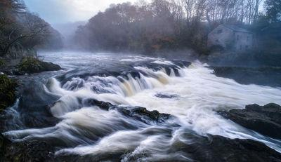 instagram spots in Carmarthenshire - Cenarth Falls
