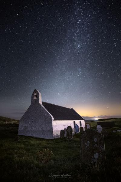 photo spots in South Wales - Mwnt Church