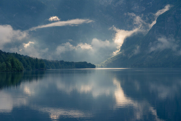 Spring afternoon at Lake Bohinj