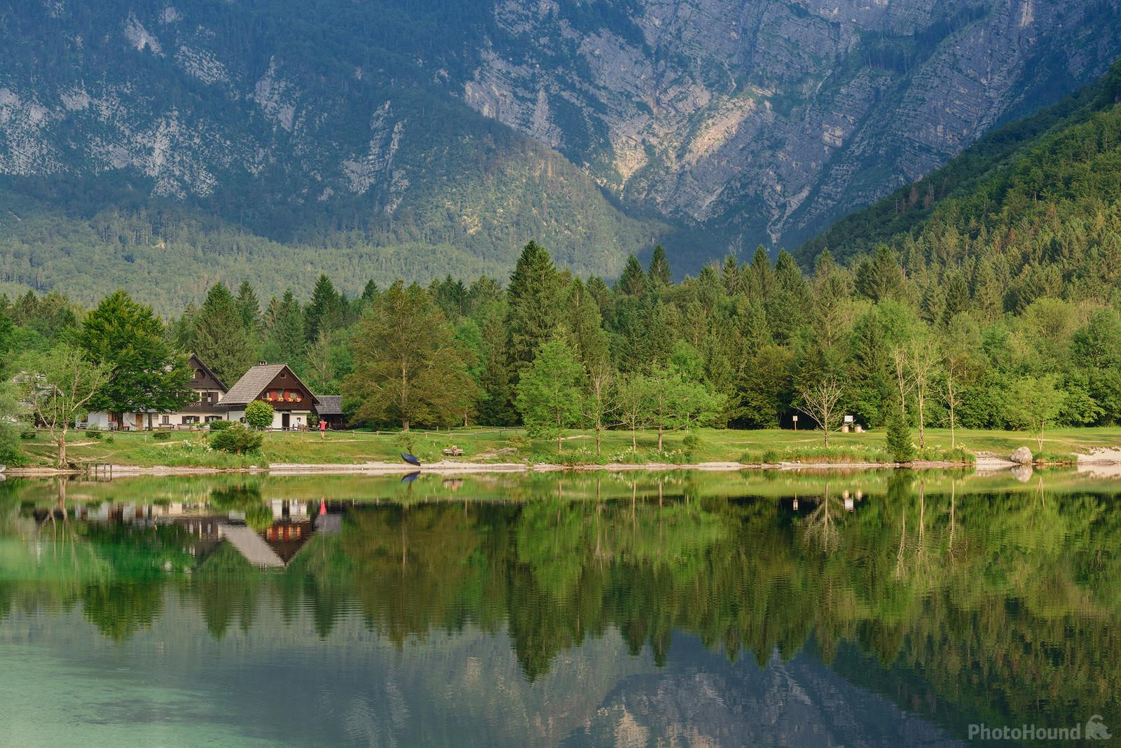 Lake Bohinj, Ukanc area