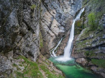 pictures of Triglav National Park - Savica Waterfall