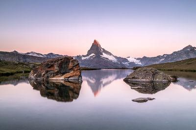 photography locations in Switzerland - Stellisee