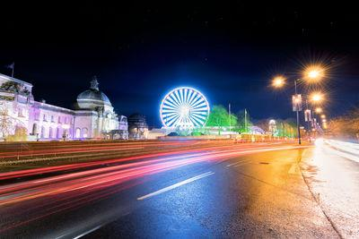 images of South Wales - Cardiff at Christmas