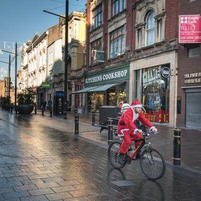 photos of South Wales - Cardiff at Christmas