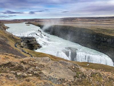 photography spots in Iceland - Gullfoss